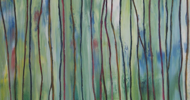 (CreativeWork) Sensing by Corinne Young. Oil Paint. Shop online at Bluethumb.