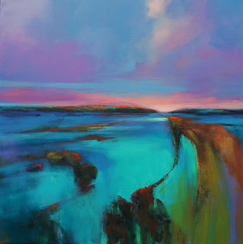 (CreativeWork) ON THE EBB  by Sandra Michele Knight. Acrylic Paint. Shop online at Bluethumb.