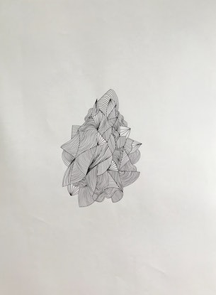 (CreativeWork) Delineation by Kiera Rikard-Bell. Drawings. Shop online at Bluethumb.