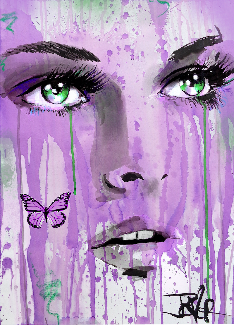 (CreativeWork) ENTICE by loui jover. Mixed Media. Shop online at Bluethumb.