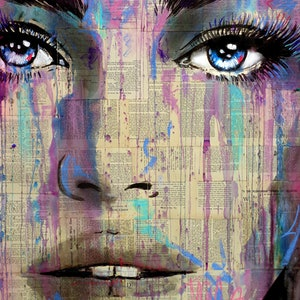 (CreativeWork) Oh by loui jover. drawing. Shop online at Bluethumb.