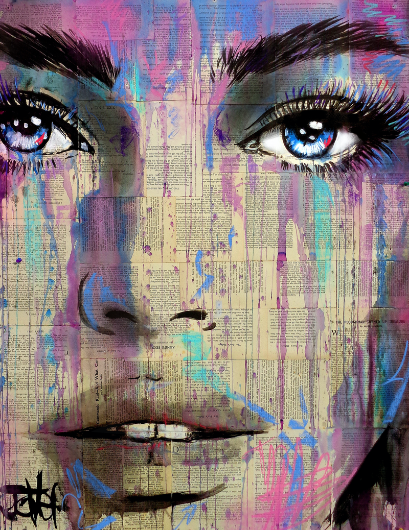 (CreativeWork) Oh by loui jover. Drawings. Shop online at Bluethumb.