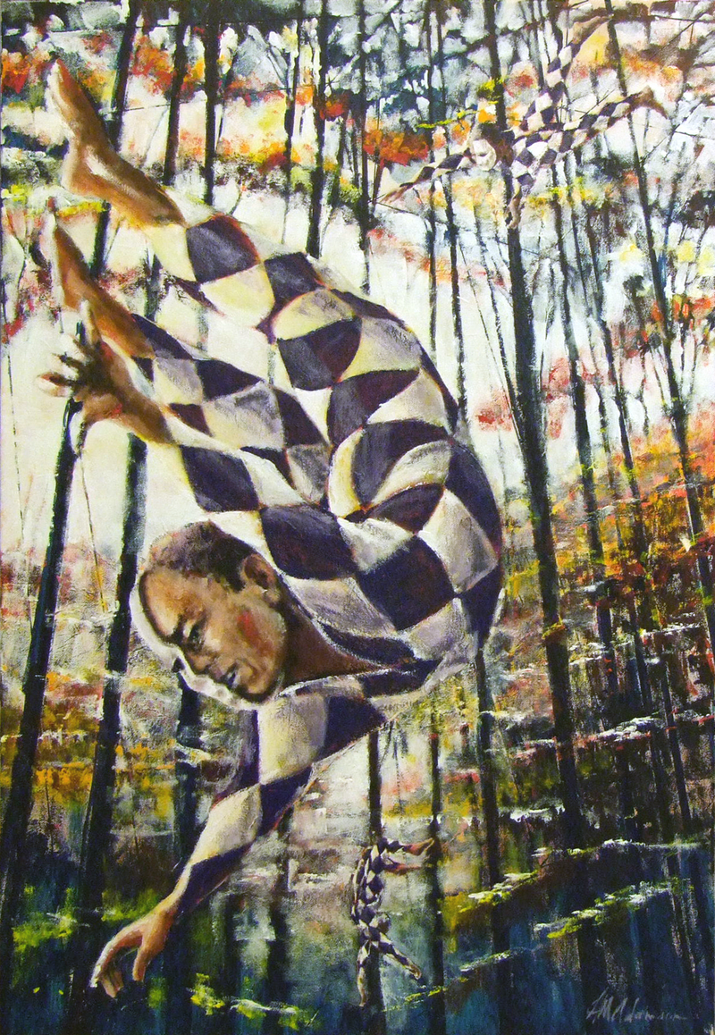 (CreativeWork) Camouflage by Hugh Adamson. Acrylic Paint. Shop online at Bluethumb.