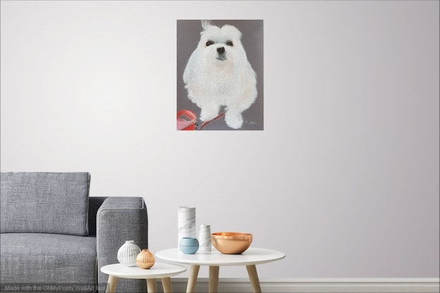 (CreativeWork) Snow by Helen Saigal. Drawings. Shop online at Bluethumb.