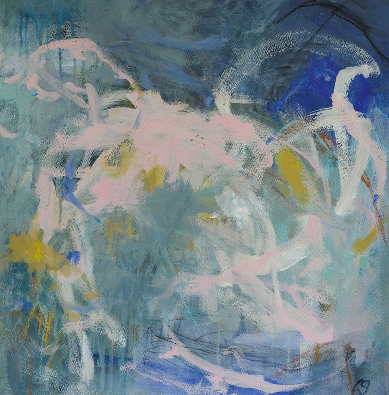 (CreativeWork) Serendipity by Christine Scurr. Acrylic Paint. Shop online at Bluethumb.