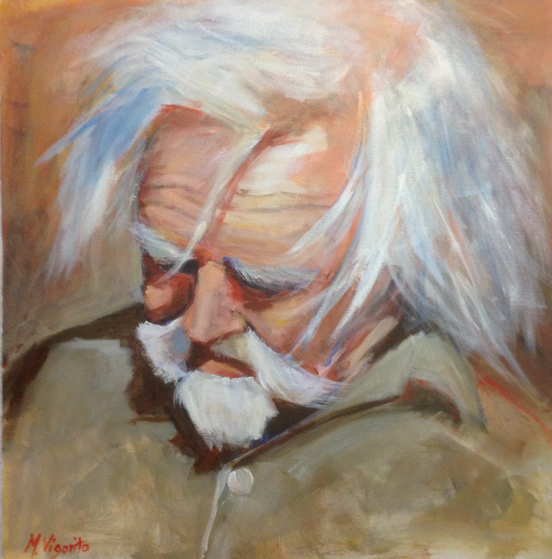 (CreativeWork) The Artisan by Margo Vigorito. Oil Paint. Shop online at Bluethumb.