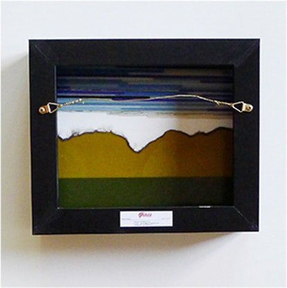 (CreativeWork) Earth and Sky by Grace Turner. Other Media. Shop online at Bluethumb.