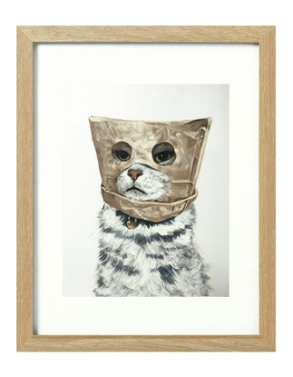 (CreativeWork) Witness Protection [framed] Ed. 1 of 20 by Donna Christie. Print. Shop online at Bluethumb.