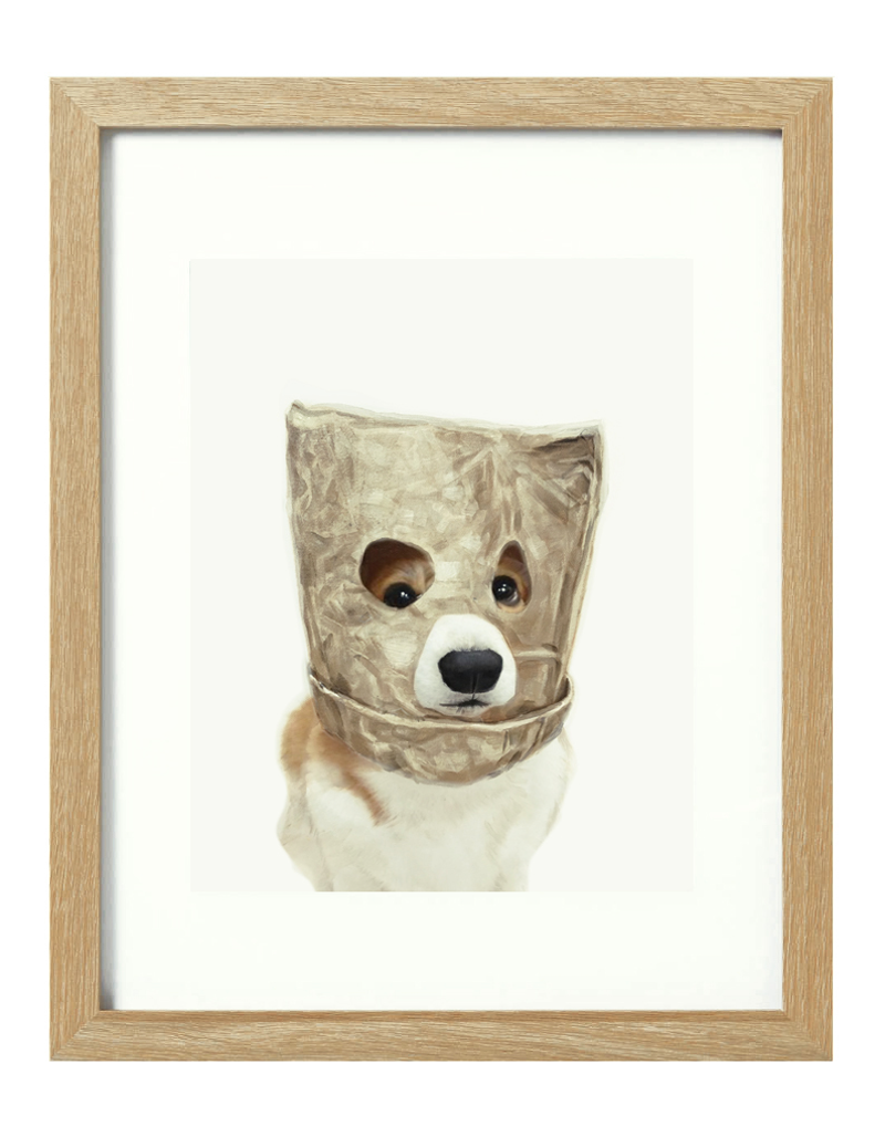 (CreativeWork) Monsieur X [framed] Ed. 1 of 20 by Donna Christie. Print. Shop online at Bluethumb.