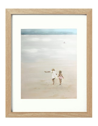 (CreativeWork) Sisters [framed]  Ed. 1 of 20 by Donna Christie. Print. Shop online at Bluethumb.