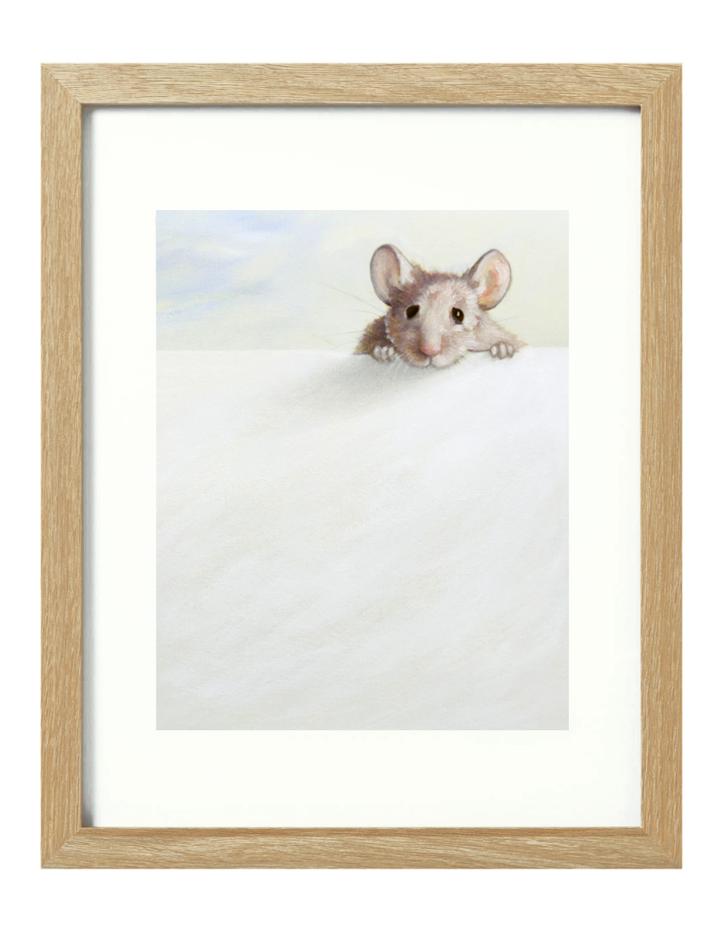 (CreativeWork) Snoop [framed] Ed. 1 of 20 by Donna Christie. Print. Shop online at Bluethumb.