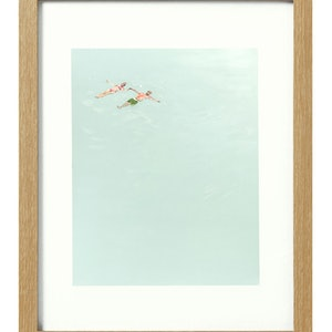 (CreativeWork) Floaters [framed] Ed. 1 of 20 by Donna Christie. print. Shop online at Bluethumb.