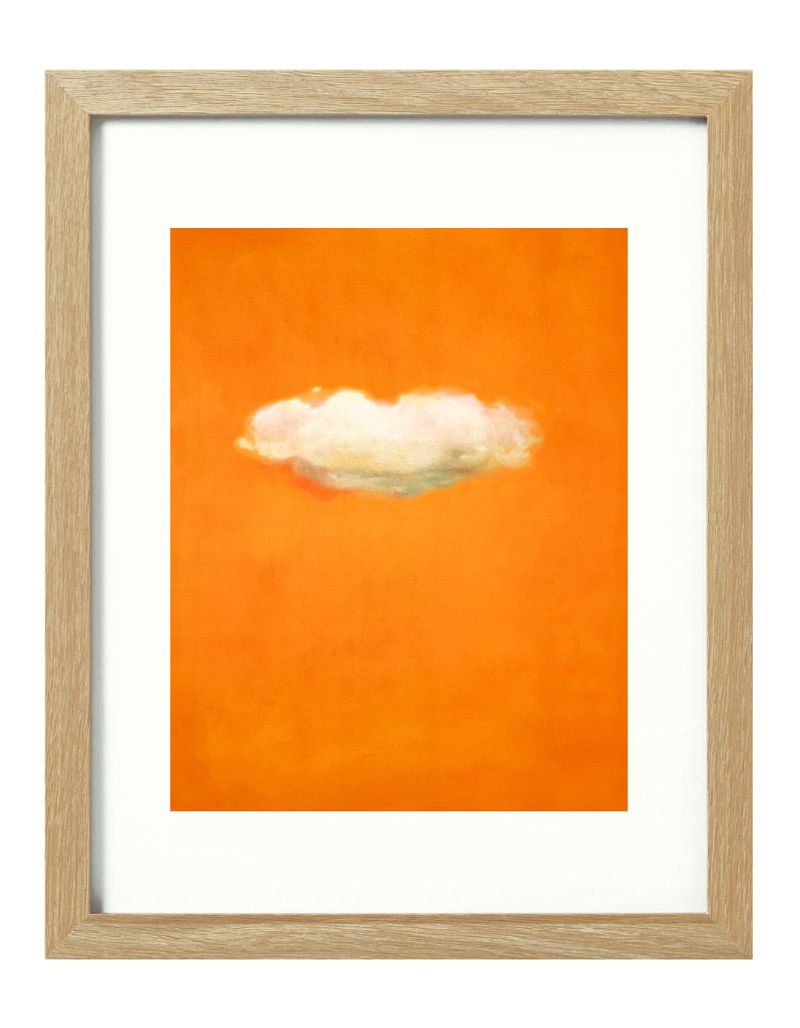 (CreativeWork) Tangerine Sky [framed] Ed. 1 of 20 by Donna Christie. Print. Shop online at Bluethumb.