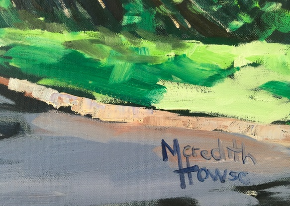 (CreativeWork) Friday on Findlay by Meredith Howse. Oil Paint. Shop online at Bluethumb.