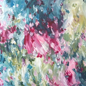 (CreativeWork) Endless Moments by Amber Gittins. arcylic-painting. Shop online at Bluethumb.
