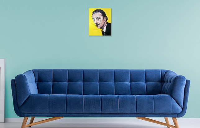 (CreativeWork) 'Dancing with Dali' Limited Edition Giclee Fine Art Print       by Tanya Cole. Print. Shop online at Bluethumb.
