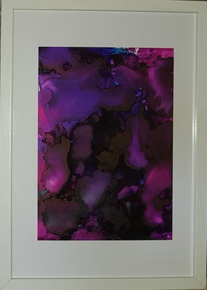 (CreativeWork) Purple Haze by Brooke P. Other Media. Shop online at Bluethumb.