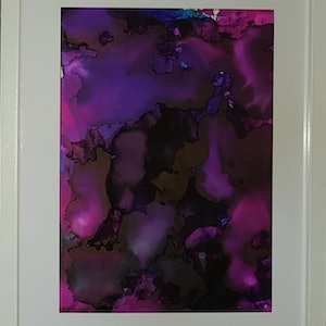 (CreativeWork) Purple Haze by Brooke P. other-media. Shop online at Bluethumb.