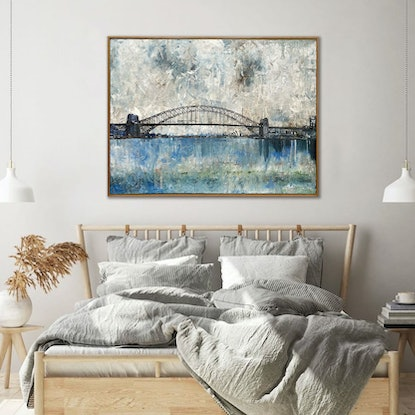 (CreativeWork) Recovery (Framed) by Melanie Crawford. Acrylic Paint. Shop online at Bluethumb.