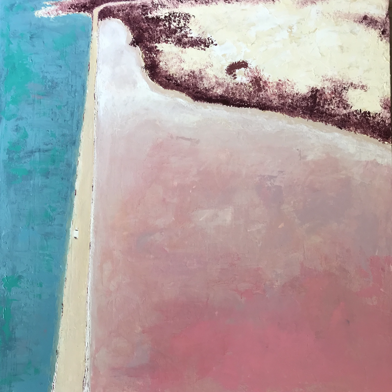 (CreativeWork) Home Stretch  by Jo Fuller. Acrylic Paint. Shop online at Bluethumb.