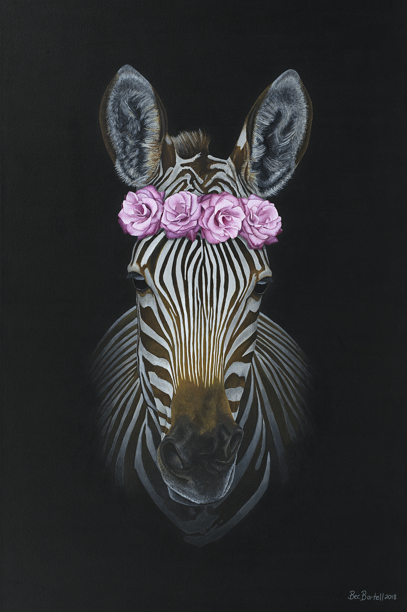 (CreativeWork) Petal (Limited Edition Framed Print) Ed. 8 of 8 by Bec Bartell. Print. Shop online at Bluethumb.