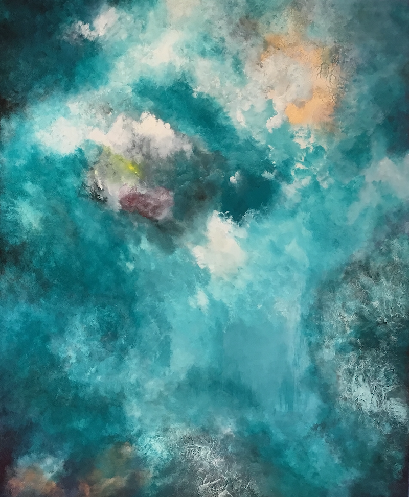 (CreativeWork) Unforeseen by Magdalena Knight. Acrylic Paint. Shop online at Bluethumb.