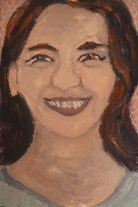 """(CreativeWork) Marie"""" (120 of 230 mfl) by elij foote. Oil Paint. Shop online at Bluethumb."""