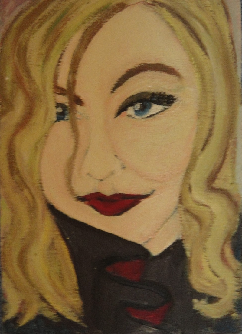 "(CreativeWork) ""Caroline"" (mfl 109 of 230) by elij foote. Oil Paint. Shop online at Bluethumb."