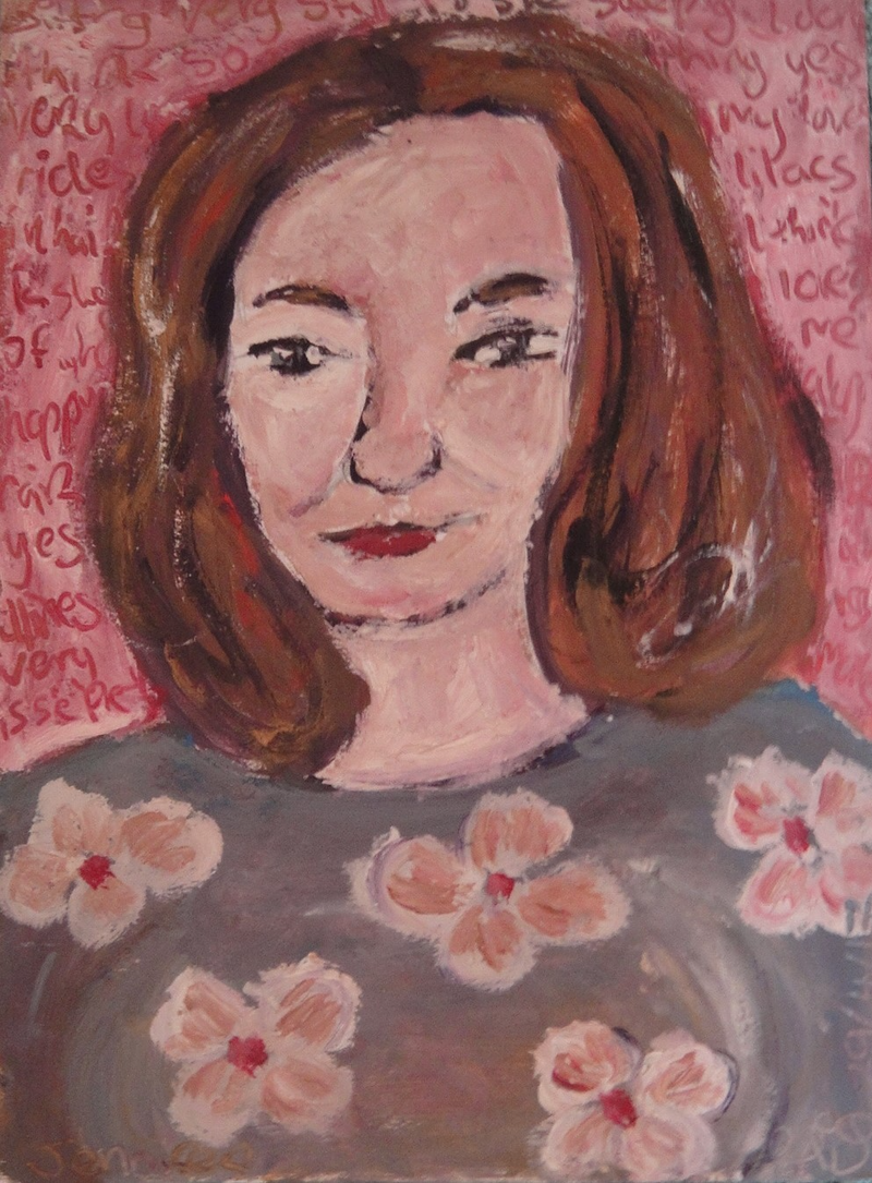 "(CreativeWork)  ""Jennifer"" (mfl 173 of 230)  by elij foote. Oil Paint. Shop online at Bluethumb."