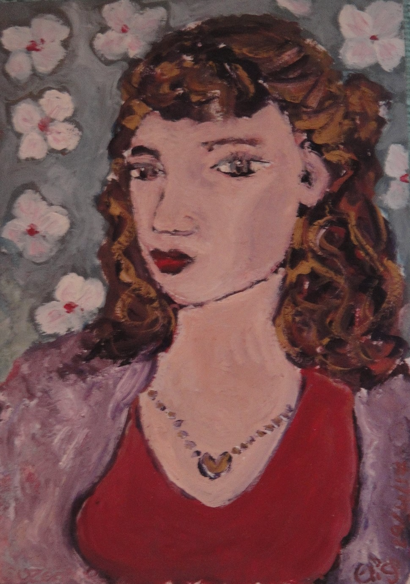 "(CreativeWork) ""Suzanne"" (mfl 174 of 230) by elij foote. Oil Paint. Shop online at Bluethumb."