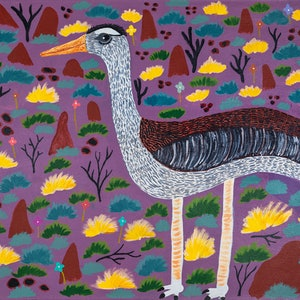 (CreativeWork) Bush turkey (17-TA171) by Lindy Brodie. #<Filter:0x00007f0820eb4db0>. Shop online at Bluethumb.