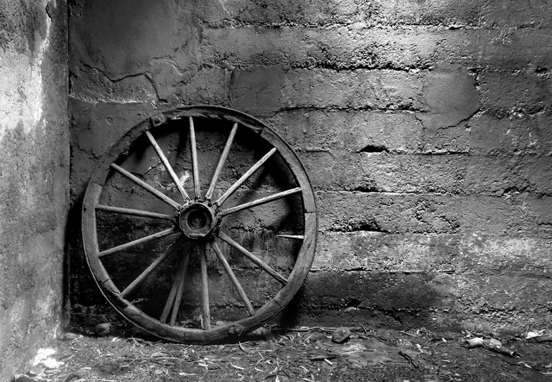 (CreativeWork) Just a Wheel by Alex Frayne. photograph. Shop online at Bluethumb.
