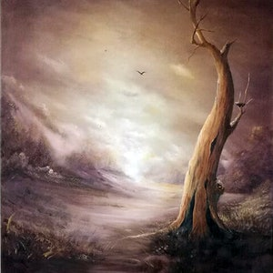 (CreativeWork) A Hollow Victory by Rhonda Armistead. oil-painting. Shop online at Bluethumb.