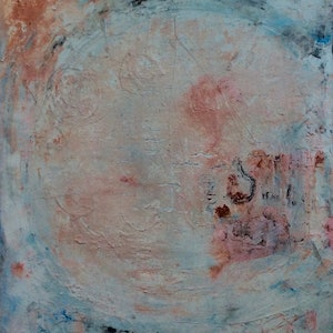 (CreativeWork) The Age Of Denial by Louise Croese. mixed-media. Shop online at Bluethumb.