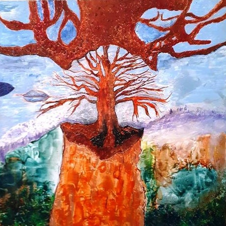 (CreativeWork) The Spirit Of Trees by Trudie Moore. Other Media. Shop online at Bluethumb.