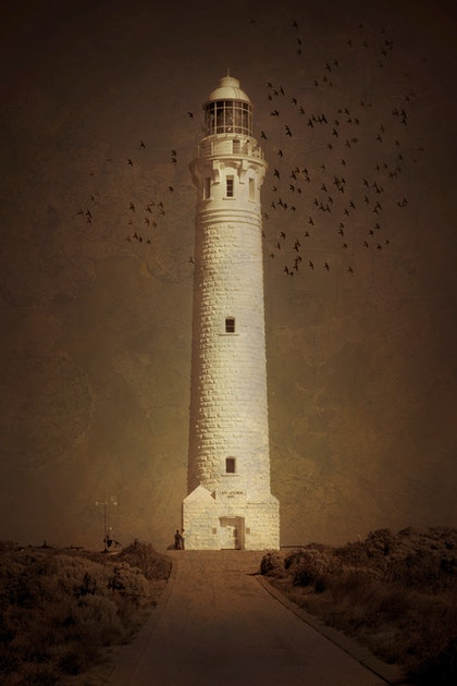 (CreativeWork) Cape Leeuwin Light House by Craig Hammersley. photograph. Shop online at Bluethumb.