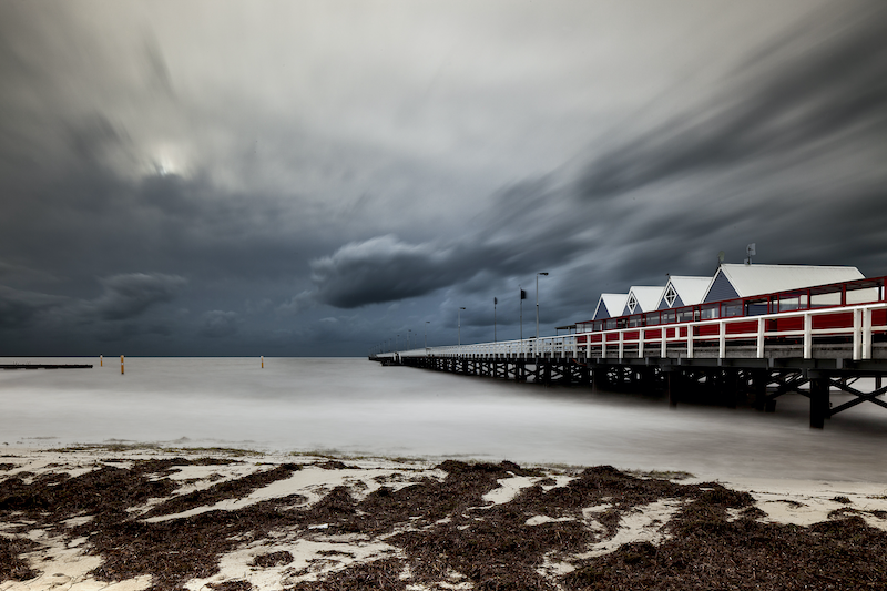 (CreativeWork) Busselton Jetty, WA by Piers Buxton. photograph. Shop online at Bluethumb.