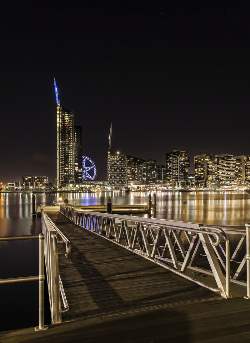 (CreativeWork) Melbourne Docklands by Piers Buxton. photograph. Shop online at Bluethumb.
