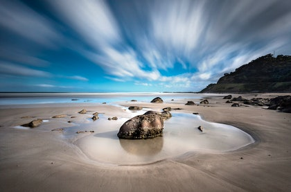 (CreativeWork) Moggs Creek, the Great Ocean Road by Piers Buxton. photograph. Shop online at Bluethumb.