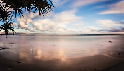 (CreativeWork) Wategos, Byron Bay by Piers Buxton. photograph. Shop online at Bluethumb.