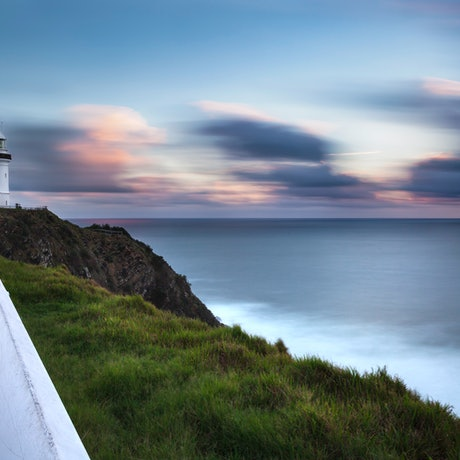 (CreativeWork) Byron Bay lighthouse Ed. 1 of 4 by Piers Buxton. Photograph. Shop online at Bluethumb.
