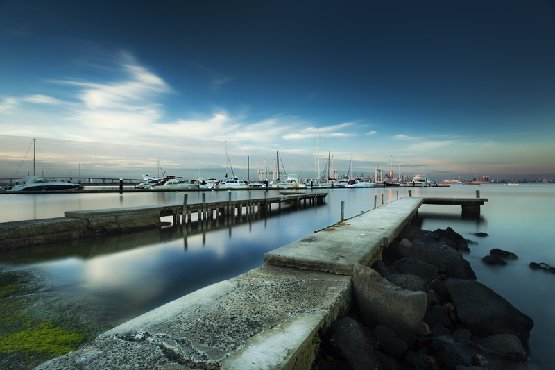 (CreativeWork) Williamstown by Piers Buxton. photograph. Shop online at Bluethumb.
