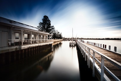 (CreativeWork) Port Albert, Victoria by Piers Buxton. photograph. Shop online at Bluethumb.