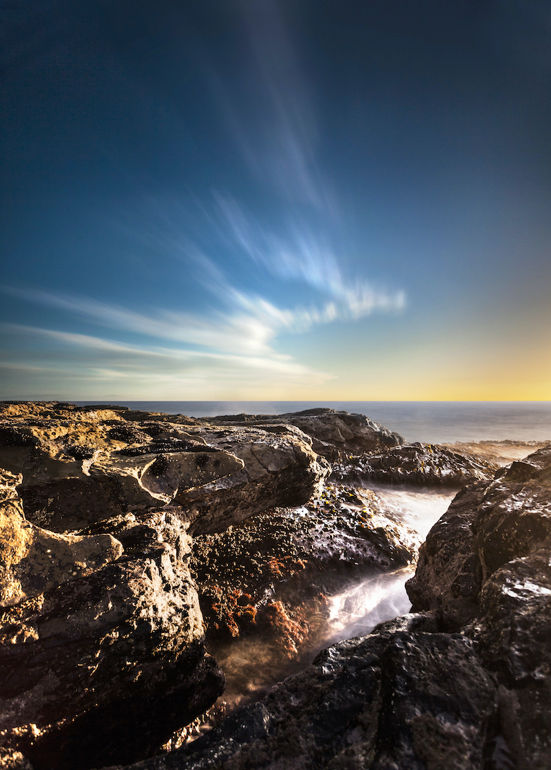 (CreativeWork) Kilcunda sunset Ed. 1 of 4 by Piers Buxton. photograph. Shop online at Bluethumb.
