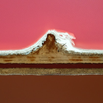 (CreativeWork) Pink Lake series 05 by Craig Hammersley. photograph. Shop online at Bluethumb.