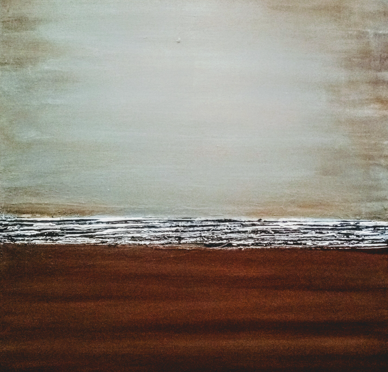 (CreativeWork) Evening Tide by Josephine Ann Pitsiava. acrylic-painting. Shop online at Bluethumb.