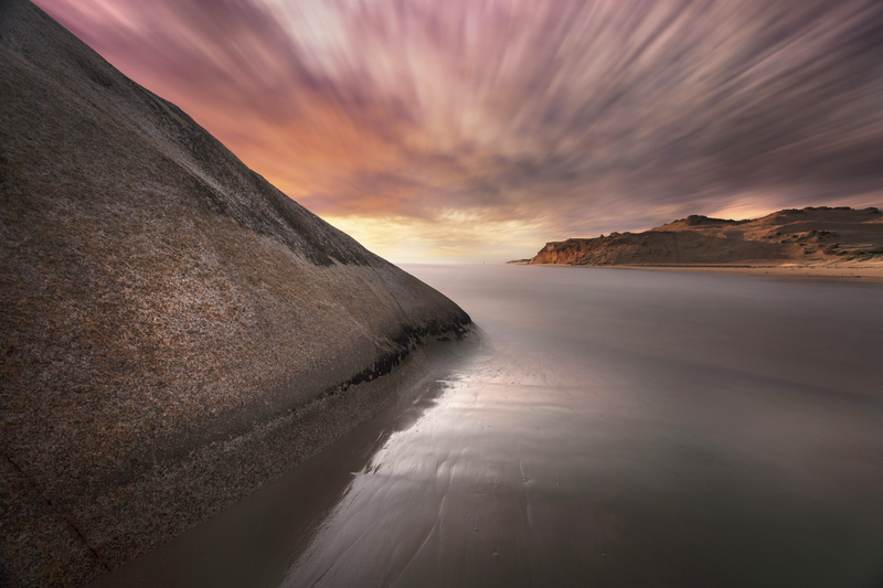 (CreativeWork) Darby Beach, Wilsons Promontory by Piers Buxton. photograph. Shop online at Bluethumb.