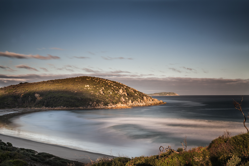 (CreativeWork) Picnic Bay, Wilsons Promontory by Piers Buxton. photograph. Shop online at Bluethumb.