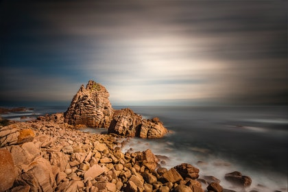 (CreativeWork) The Pinnacles, Phillip Island by Piers Buxton. photograph. Shop online at Bluethumb.