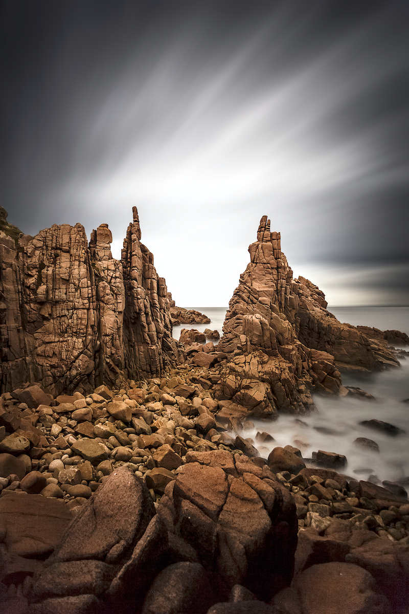 (CreativeWork) The Pinnacles, Phillip Island Ed. 1 of 4 by Piers Buxton. photograph. Shop online at Bluethumb.
